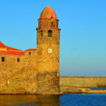 collioure iconic port entrance