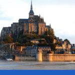 Mont Saint Michel at dusk: mont saint michel history episode