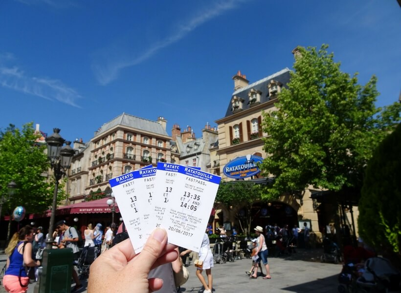 tickets to the ratatouille ride; Insider Tips for Visiting Disneyland Paris with Debbie
