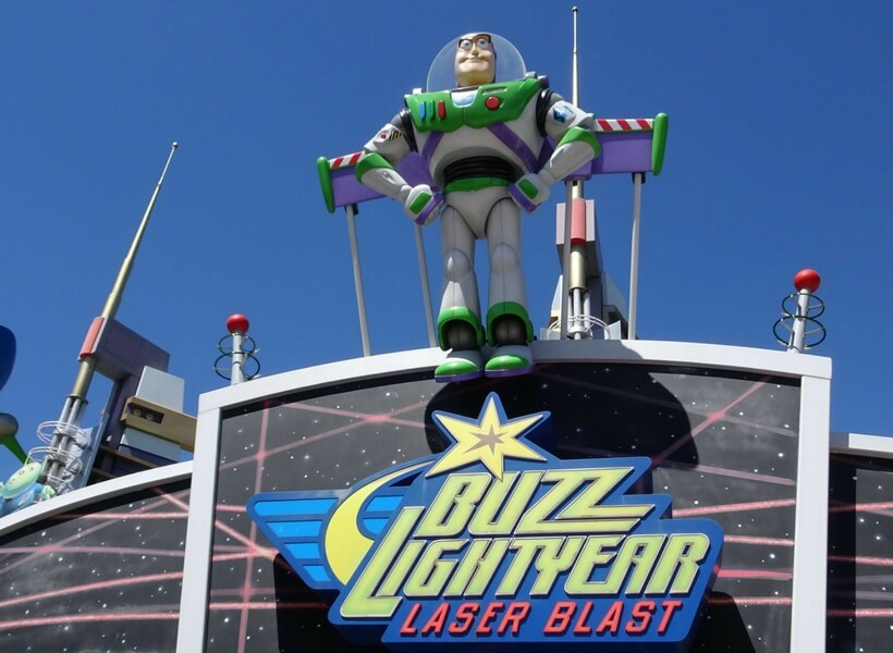 Buzz lightyear ride; Insider Tips for Visiting Disneyland Paris with Debbie