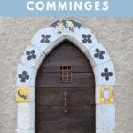 beautiful door in Saint Bertrand de Comminges