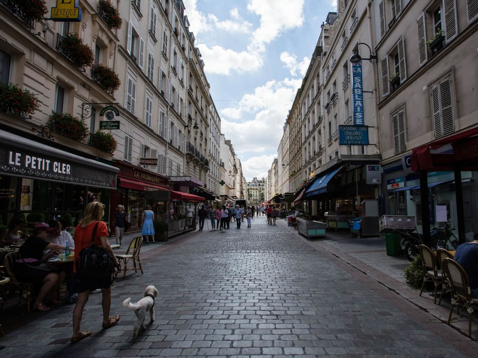 Paris Walks: rue Cler