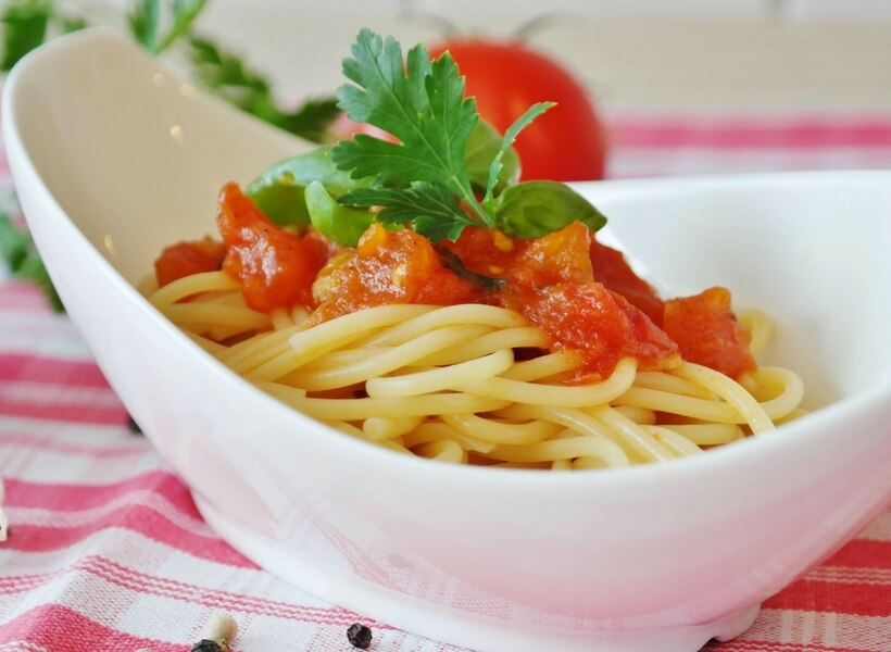 vegetarian spaghetti dish; 10 things you didn't know about France but you should