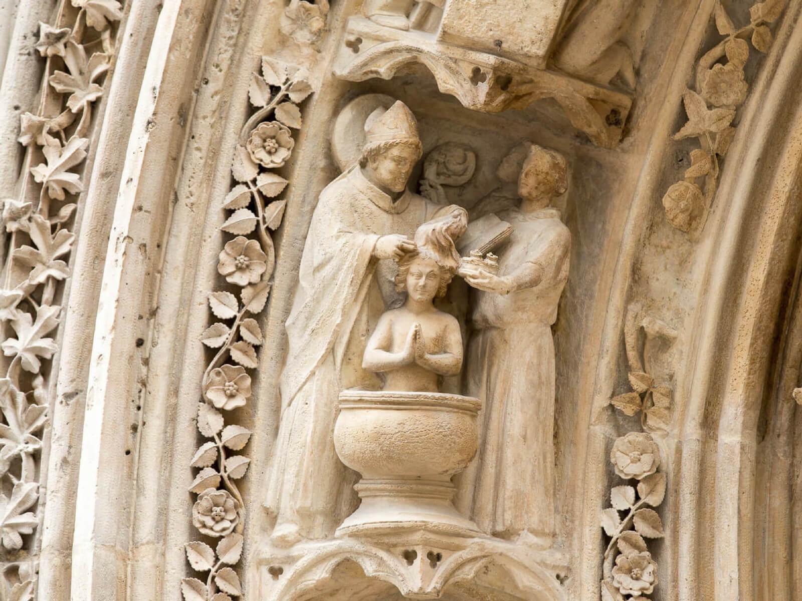 Baptism; Notre Dame Stories