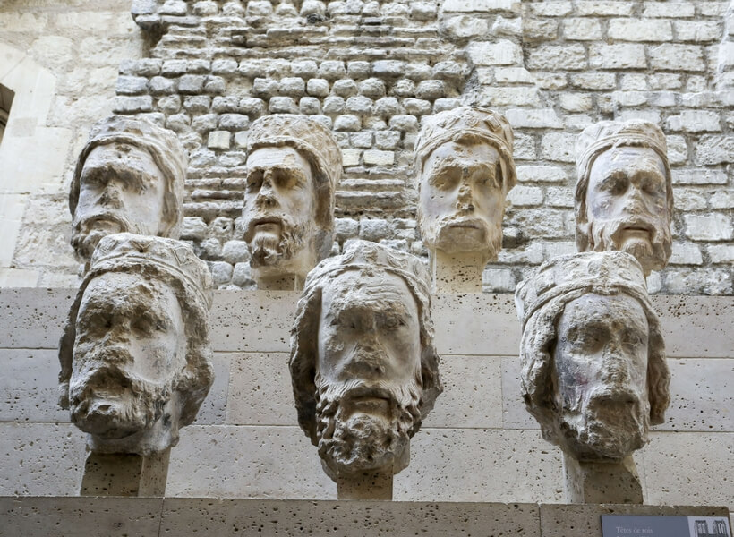 Notre Dame Cathedral Stories; Big Heads at the Cluny Museum