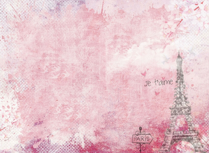 Pink dreamy Paris; first time in Paris