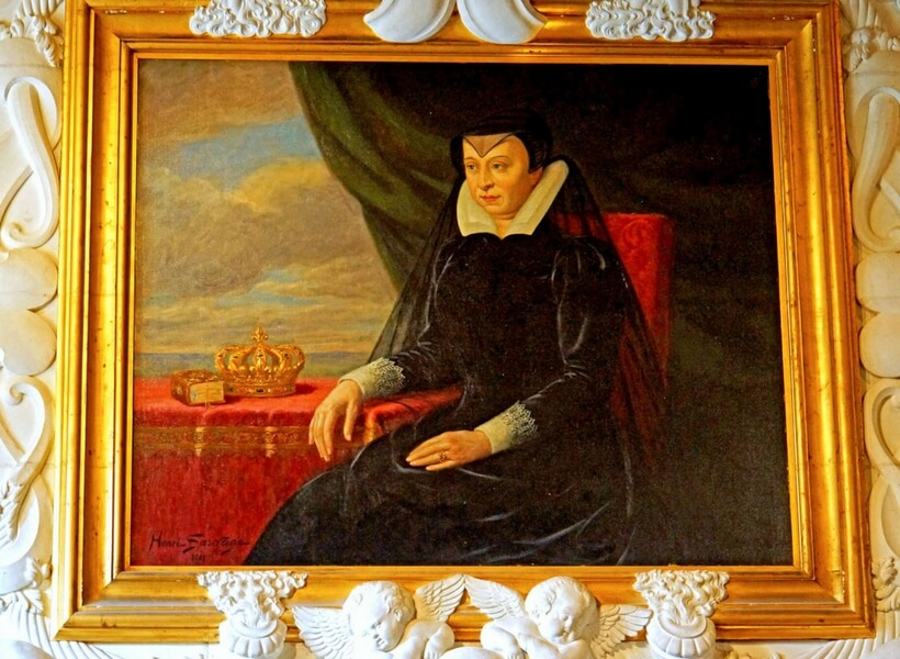 Catherine de Medici painting; table manners in france