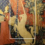 The Lady and the Unicorn tapestry at the Cluny Museum in Paris