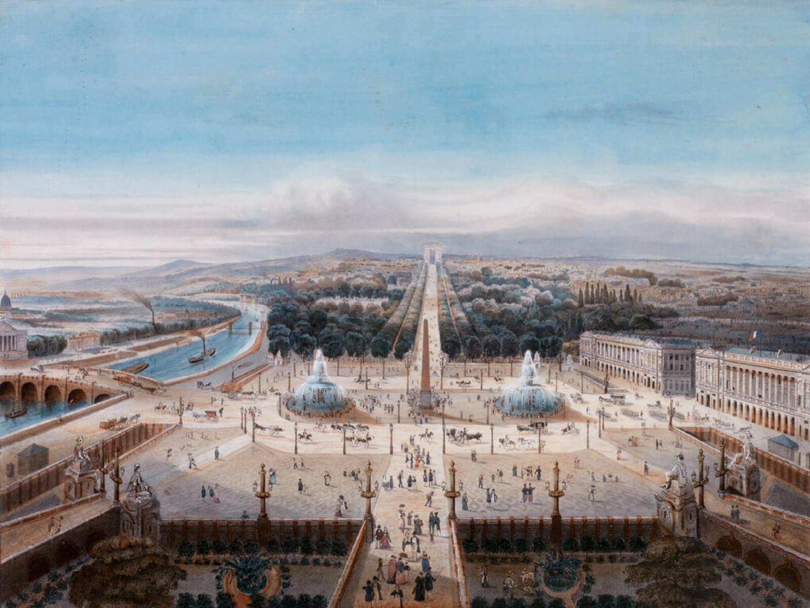 Paris Historical Axis at the Belle Époque