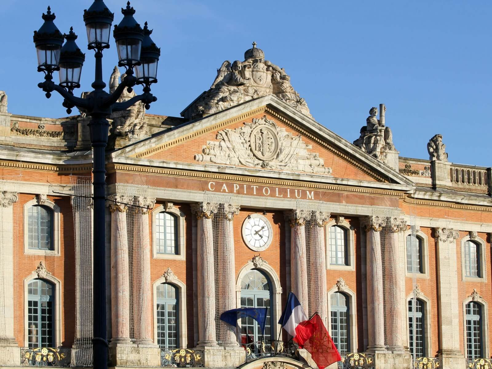 The Capitole, city hall; toulouse area