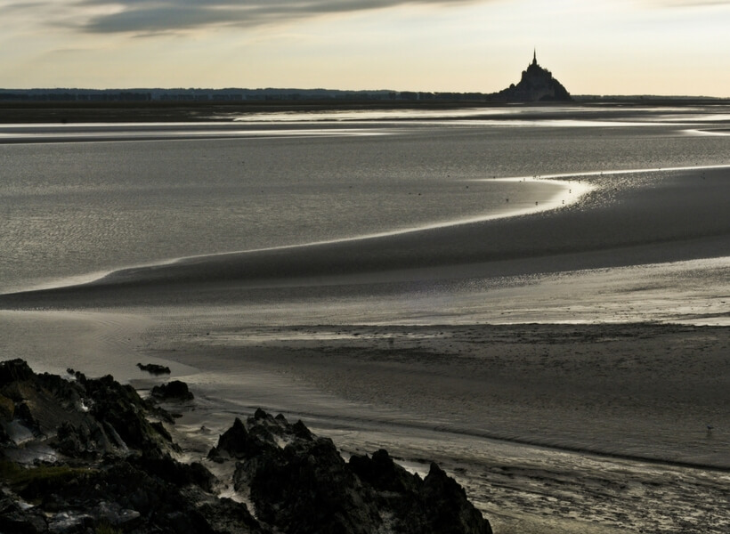 view from a distance; mont saint michel trip report