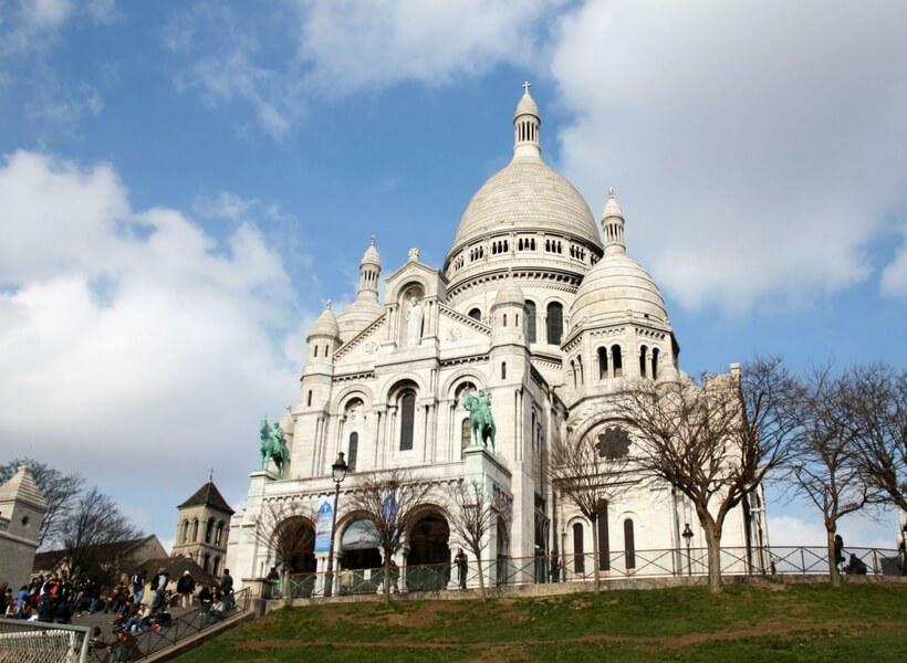 sacré coeur; paris highlights