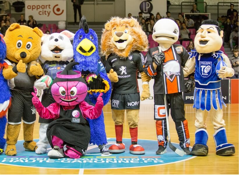some of the mascots of Toulouse sports clubs; ultimate guide to toulouse