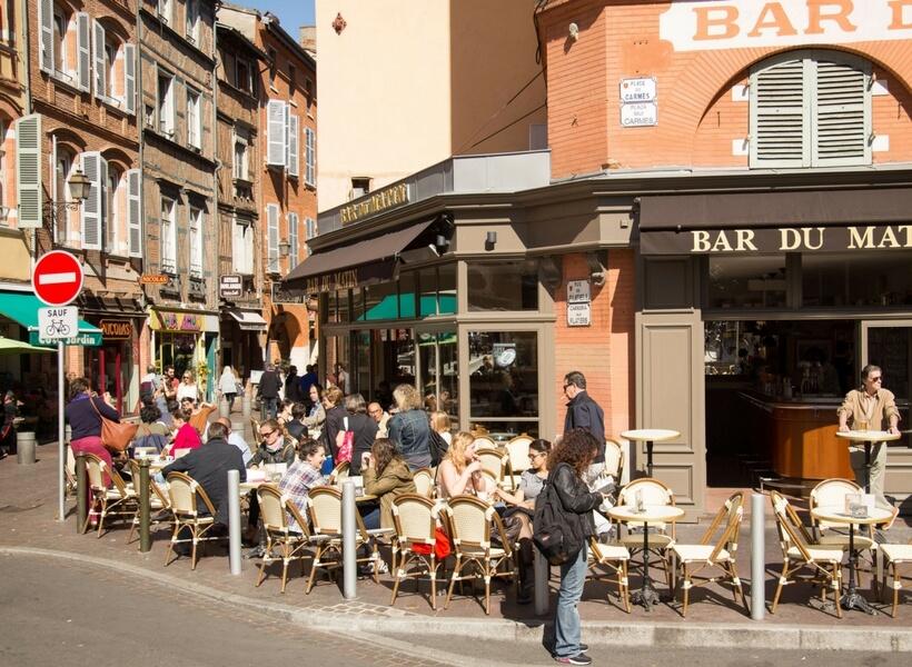 café in Toulouse, Toulouse area