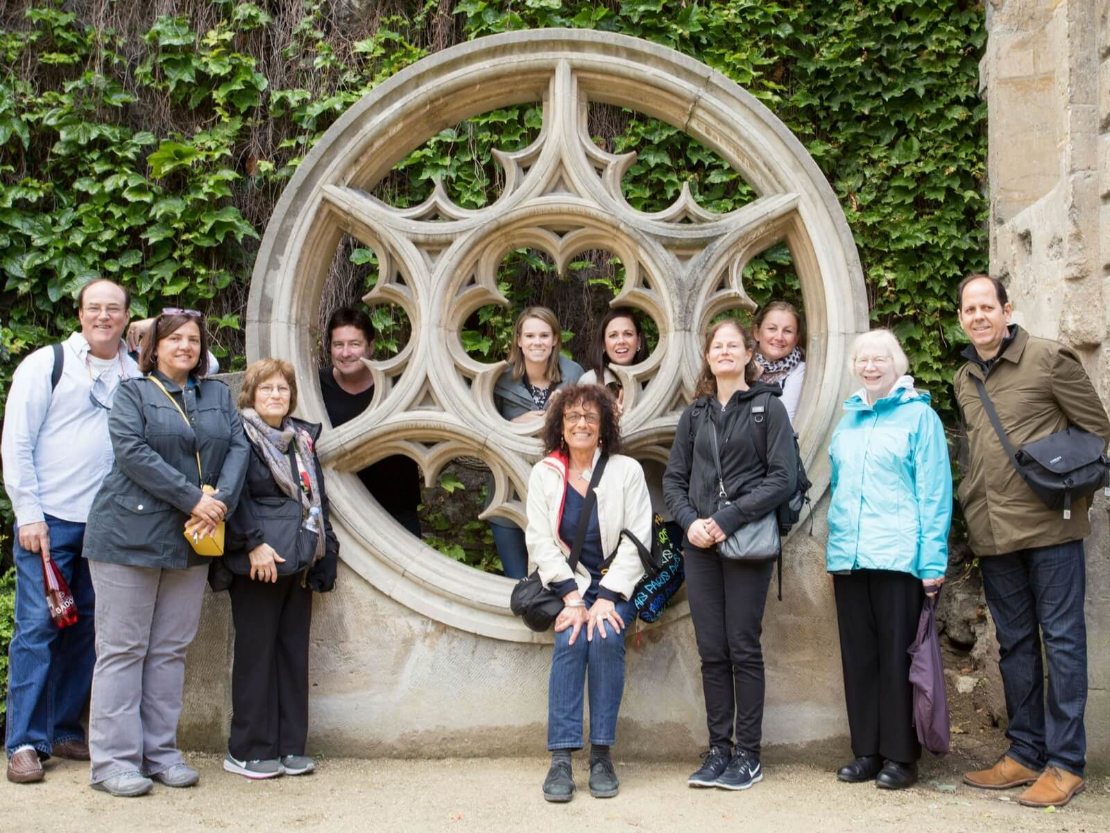 Addicted to France Tours: Inaugural Tour Group during our visit to the Marais