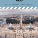 Paris Place de la Concorde et Champs-Elysees 19th century: paris historical axis