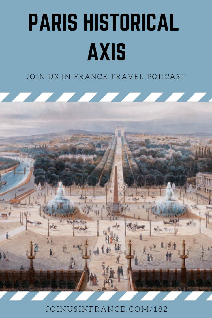 The Paris Historical Axis is one of the coolest arcane bits of knowledge we've ever discussed on the podcast. Most people walk right past it and never see it because they don't know it's there. But it is and after listening to this episode you'll see it! #parishistoricalaxis #VoieRoyale #FromLouvreToLaDefense #joinusinfrancetravelpodcast
