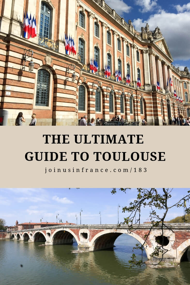 Elyse has been guiding in Toulouse for decades and Annie is a native of Toulouse. In this episode of the podcast we tell you about the city we love and where we live every day. Place du Capitole, Pont Neuf, Hotel d'Assezat, Les Jacobins, Saint Sernin Basilica and more. #toulousefrance #toulouse #toulousecity #joinusinfrancetravelpodcast