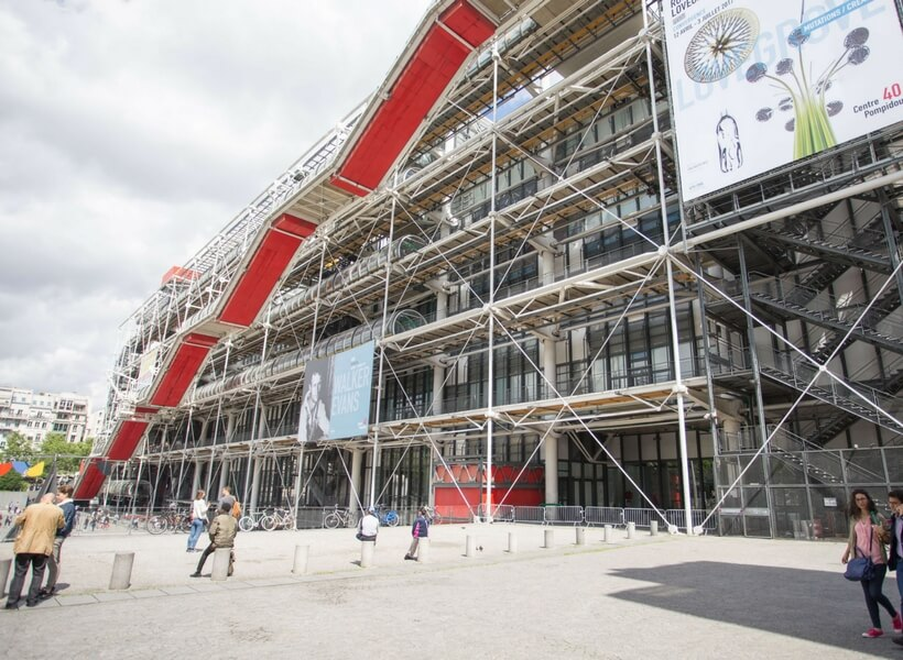 Overview of Paris Museums: Pompidou Center