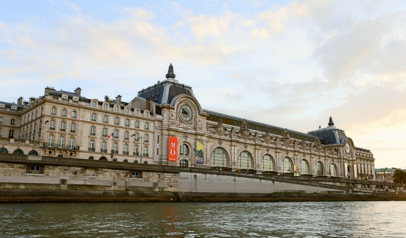 Overview of Paris Museums: Orsay Museum seen from the Seine River