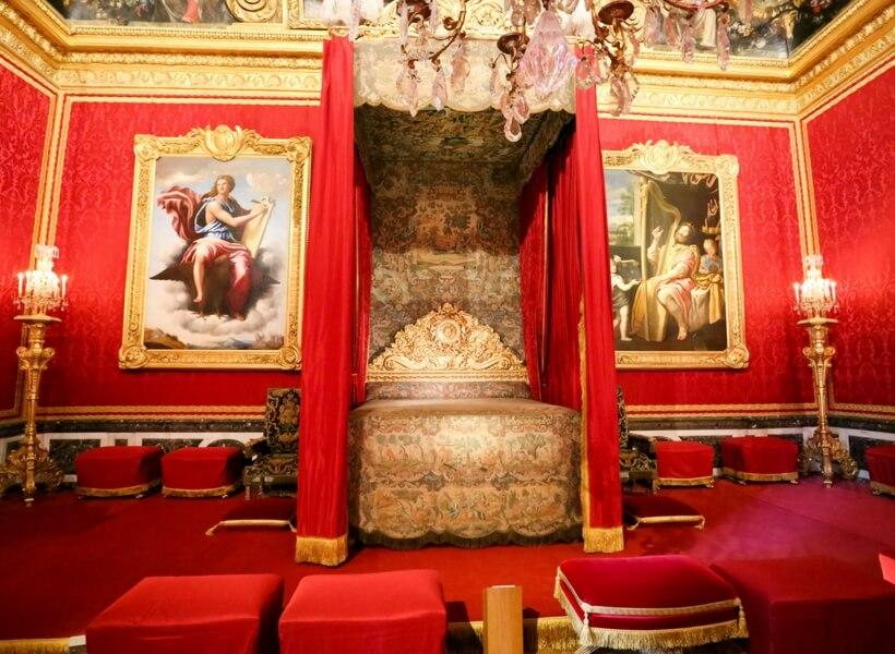 salon de mercure at Versailles; day trip to Versailles from Paris