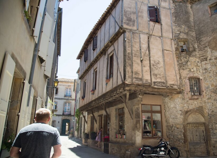 narrow street in southern france; When Renting a Car in France Is Worth the Trouble