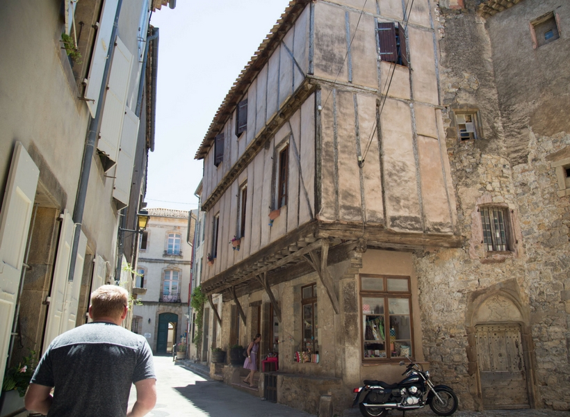 very narrow street in france; is renting a car in france worth the trouble