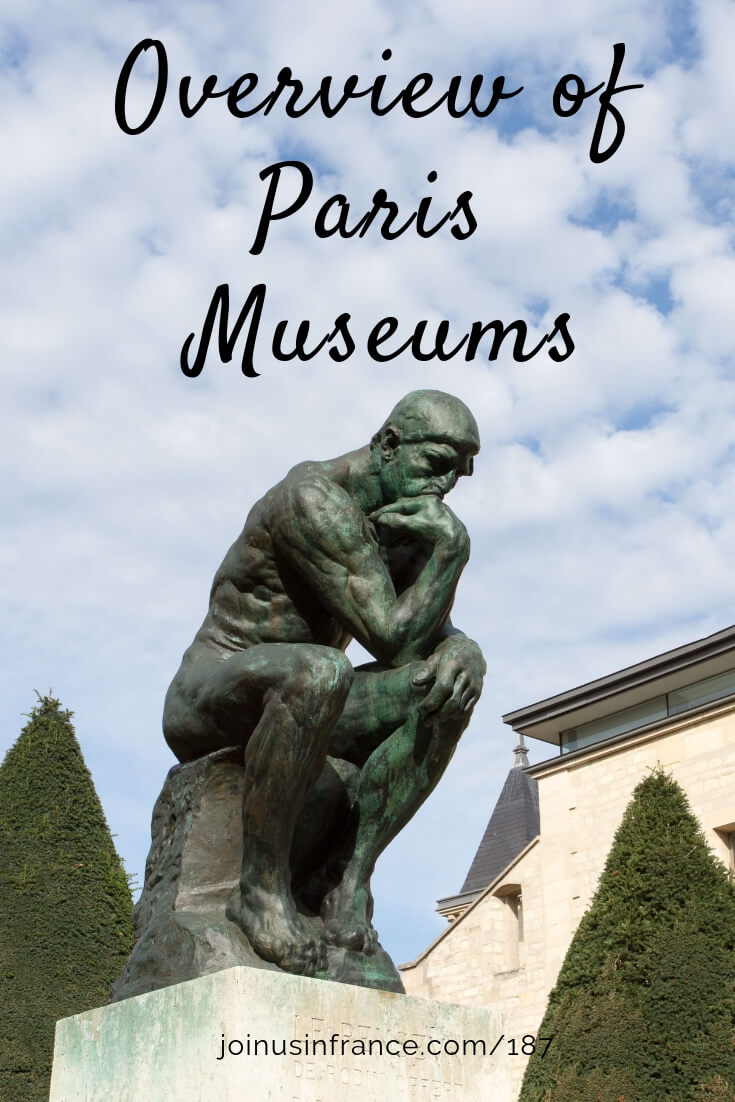 On this episode Annie and Elyse share a brief description of Paris Museums. There are some you've heard of and many you've probably never heard of. Should you try some of the lesser-know ones? You can decide for yourself with this episode! #parismuseums #parisguide