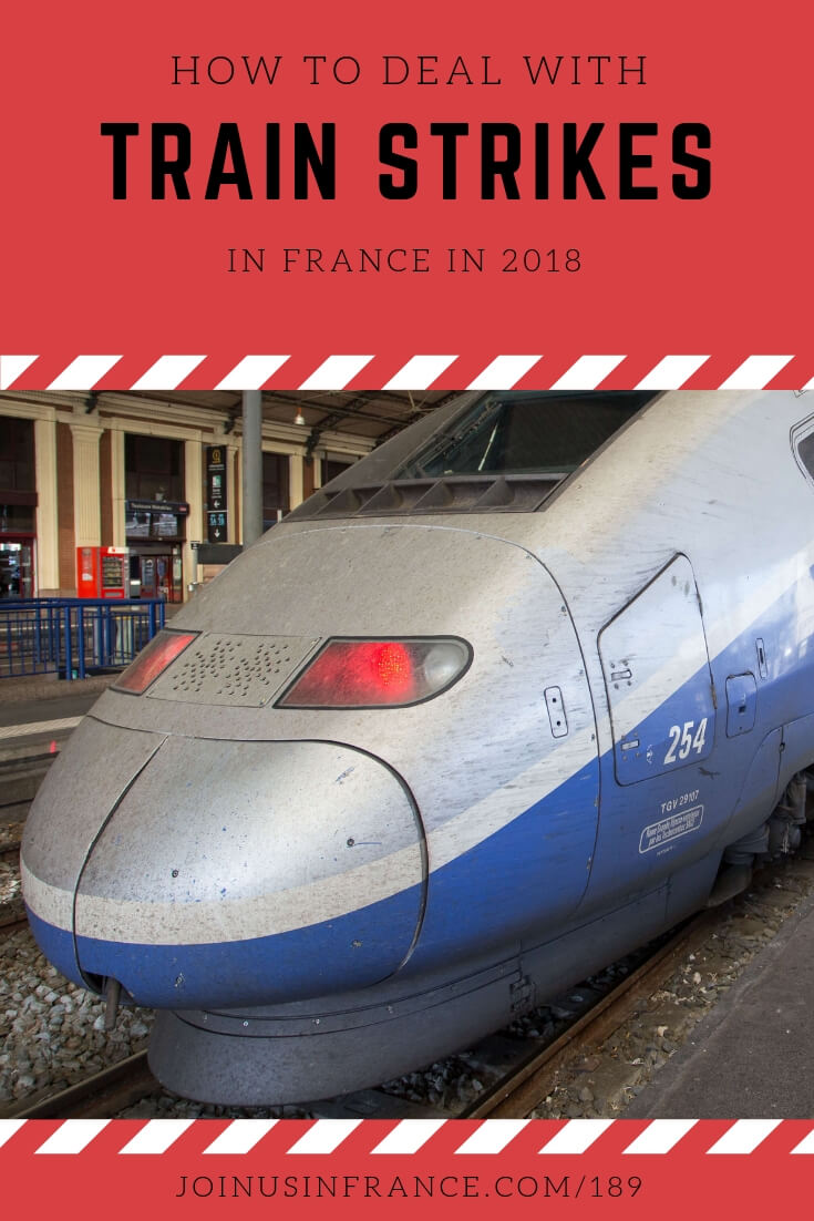 Train strikes are all too common in France. There's been a long train strike every year in France since 1945. How do you deal with it? In this episode we talk about how to get up-to-date information about train strikes in France, how to make alternative plans, don't give yourself an ulcer over this! #trainstrikefrance #gettingaroundfrance #travelstrike