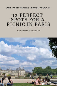 people having a picnic in paris at the jardin du luxembourg