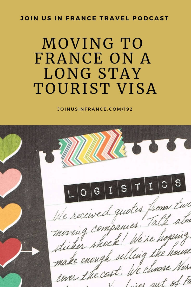 Retirees have a great advantage: they can move to France on a long term tourist visa by following the steps Claire and her husband explain in this episode. French administrators love paperwork, but it's worth the trouble if your goal is to enjoy a great lifestyle in France! #movetofrance #movingabroadinretirement #relocation