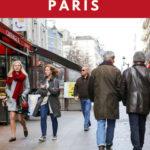 Regular people walking in Paris: how to look stylish in paris