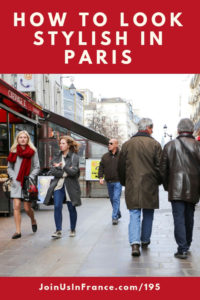 Regular people walking in Paris: how to look stylish in paris