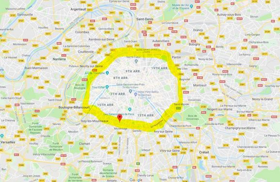the vibe of paris neighborhoods: stay inside the ring road!