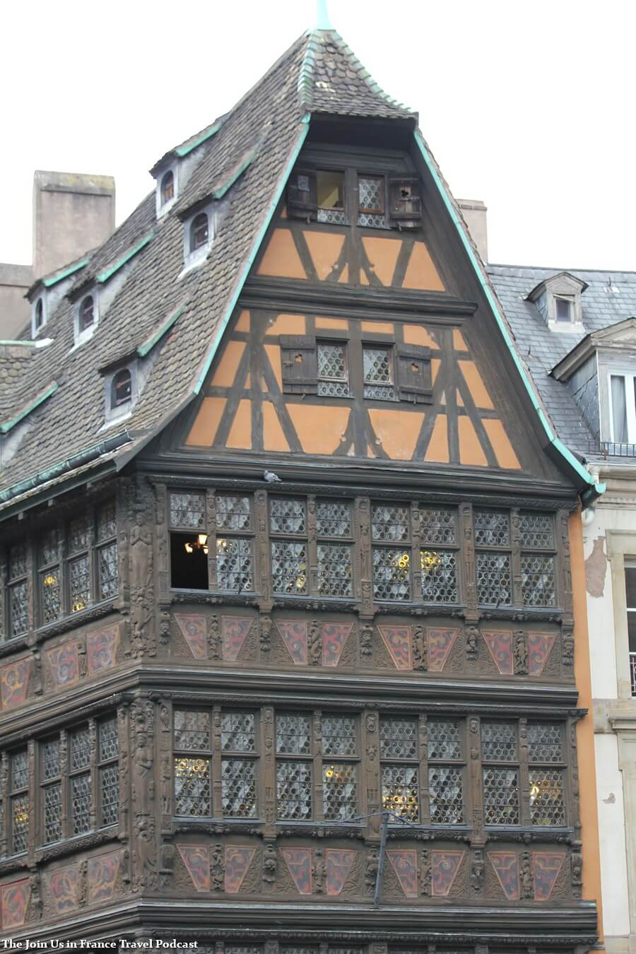 Half-timbered house in Strasbourg
