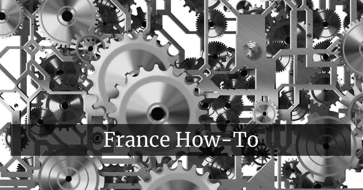 Gears, Wheels and Cogs: France How-To Episodes