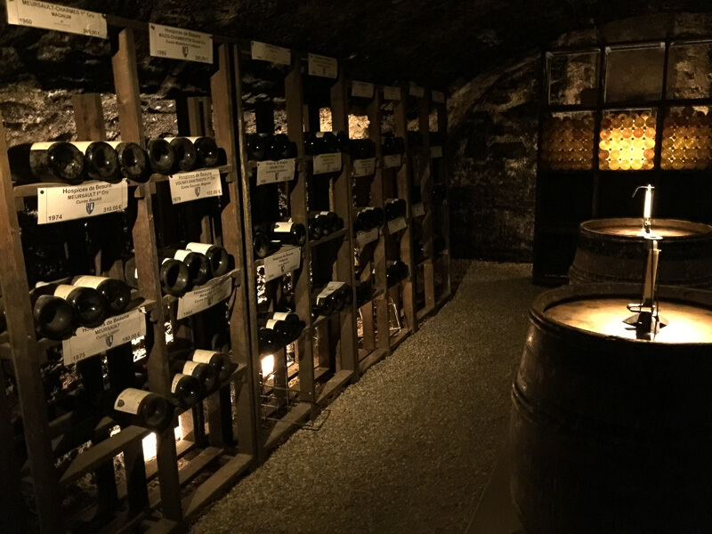 "Wine cellar or ""cave"" in French"