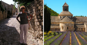 Mary-Lou in Provence and the Abbaye de Sénanque