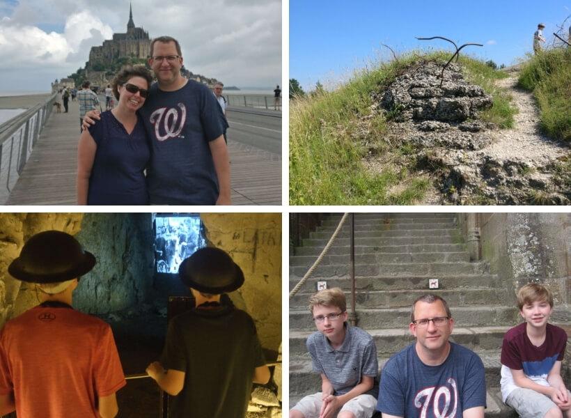 Jennifer and her family: WWI Battlefields in France Episode