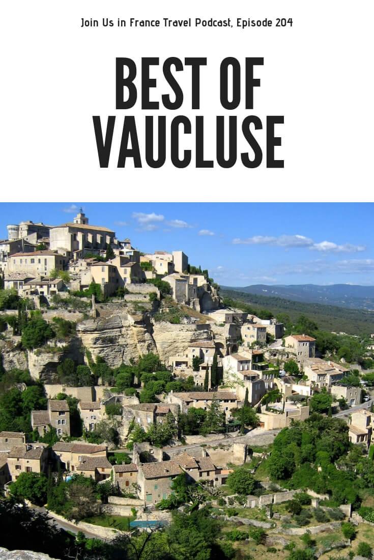 Have you ever heard of the Vaucluse? It is a gorgeous mountainous part of Provence that overlaps with what we also call the Lubéron. Avignon, Apt, Lubéron, L'Ile-sur-la-Sorgue (aka Little Venice), Saumane-de-Vaucluse, Orange, Palais des Papes, Pont d'Avignon, Buoux, Lourmarin, Abbaye de Sénanque, Antiques Market, Les Enclos des Bories (the one outside of Bonnieux), Pont Julien, Bike Path Between Bonnieux and Apt