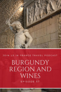 Statue at a museum in Dijon: Burgundy Region and Wine Episode