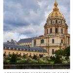 Les Invalides and its golden dome: Napoleon in Paris Episode