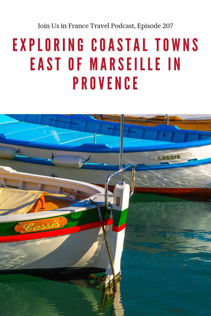 In today's episode Annie and Elyse discuss exploring coastal towns east of Marseille in Provence. Surprisingly, this is a part of France that has a little bit of everything within a short distance! The places we explore include Cassis, La Ciotat, Bandol, Castellet, Calanques, Cosquer Caves, Cap Canaille, the oldest cinema house in the world, Saint Cyr Beach, Les Lecques Beach and more. #travel #podcast #france #provence #cassis #bandol #laciotat