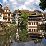 Petite France in Strasbourg, France