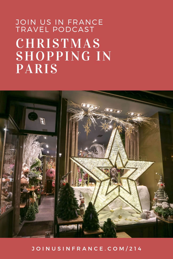 Where are the best places to do some Christmas shopping in Paris? Which Christmas markets are best in Paris? What about visiting the covered passages to do some Christmas shopping? Interested attending the Christmas mass at Notre Dame de Paris? It's all in today's episode of the Podcast!