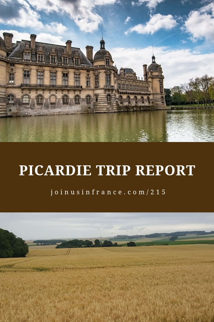 On today's episode we talk about wonderful things to do in Picardie, Hauts-de-France. Amiens, Compiègne, Pierrefonds, Le Chemin des Dames, La Caverne du Dragon, Epernay, Champagne, Notre Dame d'Amiens, Les Hortillonnages in Amiens, Using the bus system in Paris, Big price difference between flights to Orly and CDG, Differences between French hospitality and American hospitality #picardie #picardietourisme #tripreport #joinusinfrancetravelpodcast