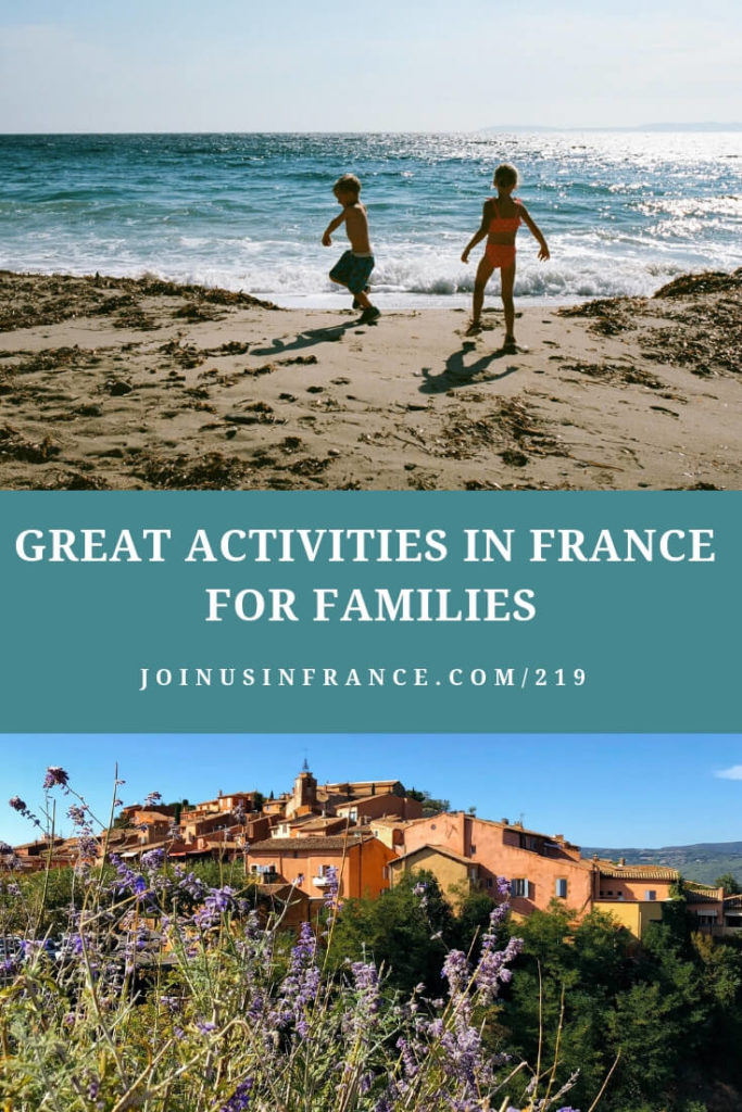 children playing on the beach and seaside home: Great Destinations in France for Families Episode