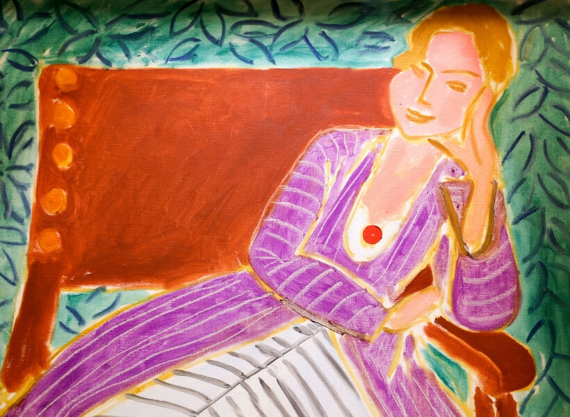 Henri Matisse, Jeune femme assise robe persane: Modern and Contemporary Art in France episode