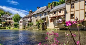 Half-timbered houses along a river: buying a house in france episode