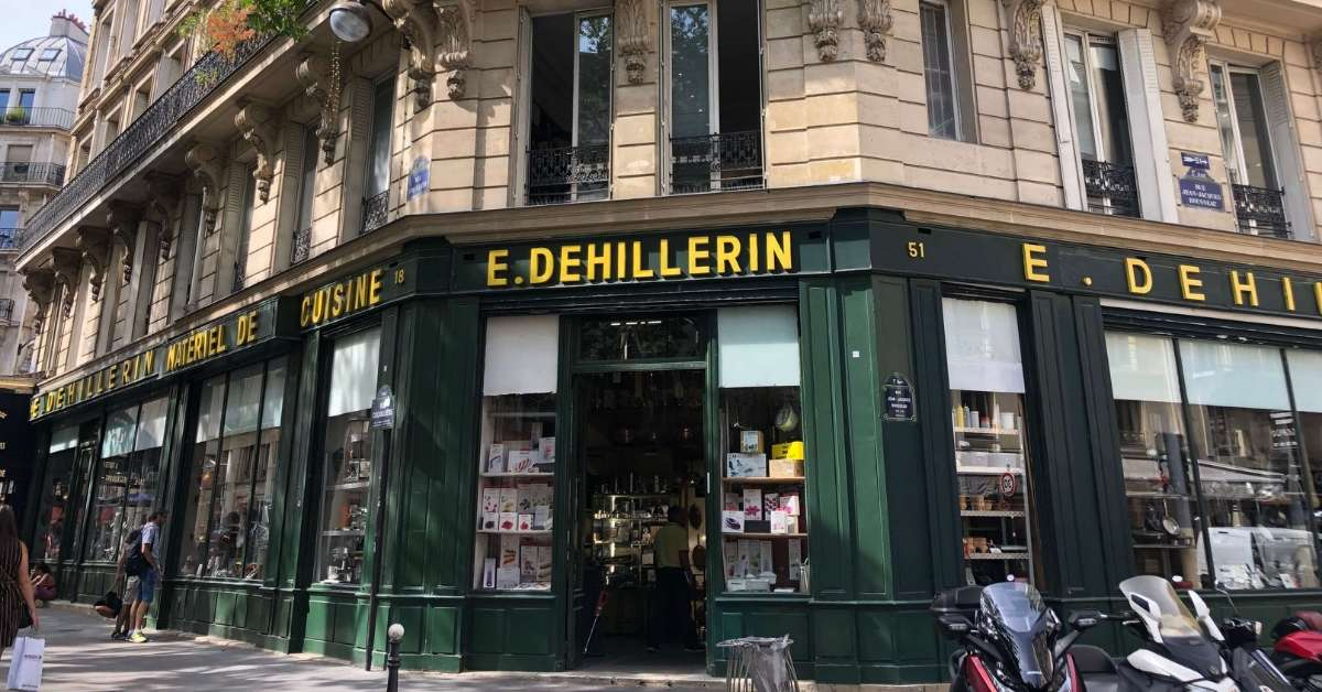 E. Dehillerin one of the best kitchen stores in Paris